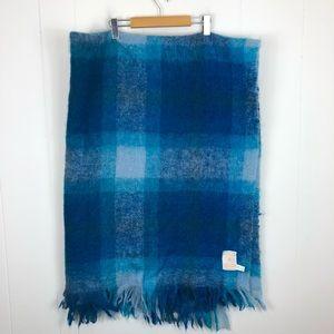 Vintage Hudson's Bay Company Mohair Wool Blanket